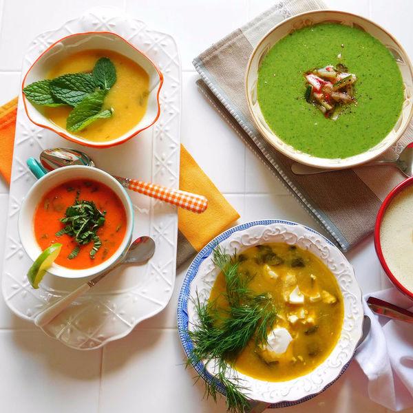 Вокруг света за 15 тарелочек: холодные супы шести материков