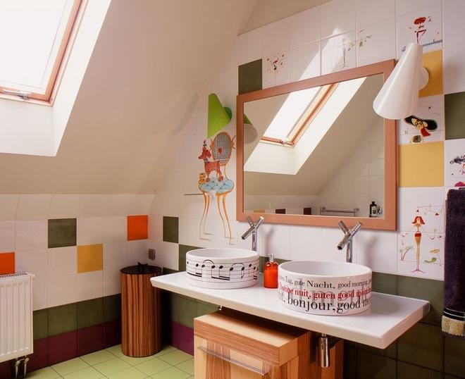 Современный Ванная комната by Polina Sudnitsyna
