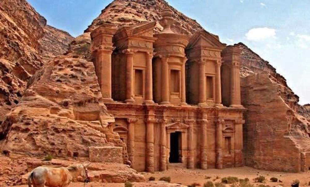 Петра (Petra), Иордания - техническая обработка камня
