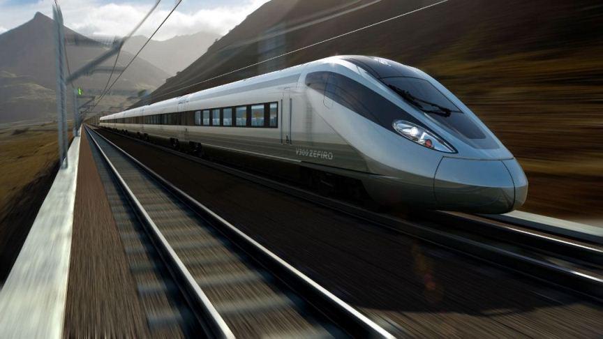 РЖД начали строить скоростную железную дорогу. Не в России.