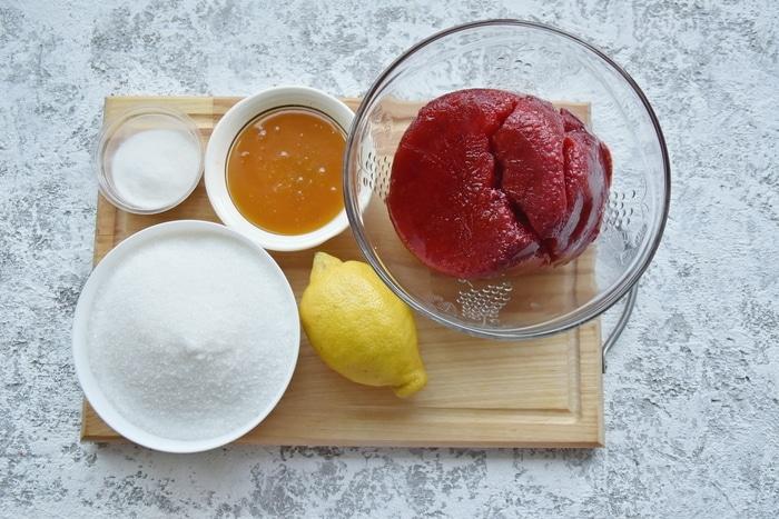 Домашний ягодный мармелад десерты