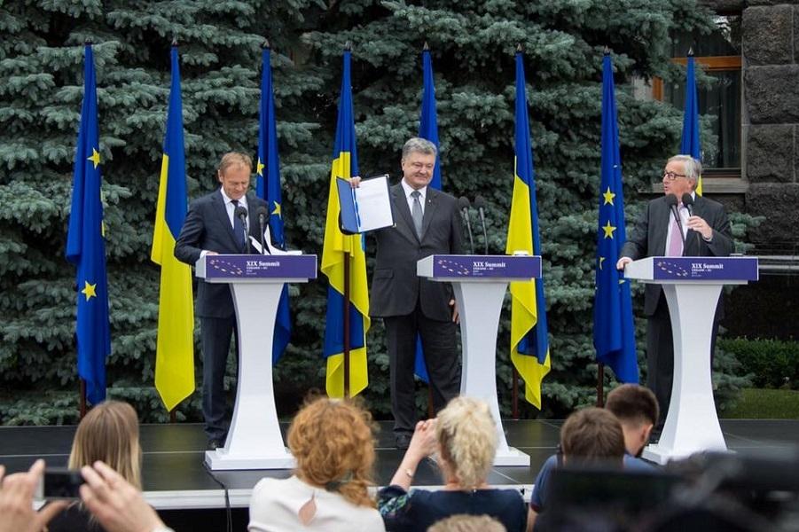 ЕС -Украине: от винта!