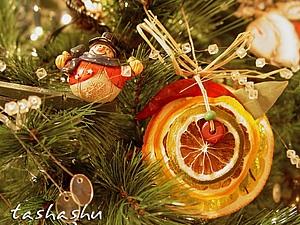 Апельсиново-ароматный декор для елки: мастер-класс