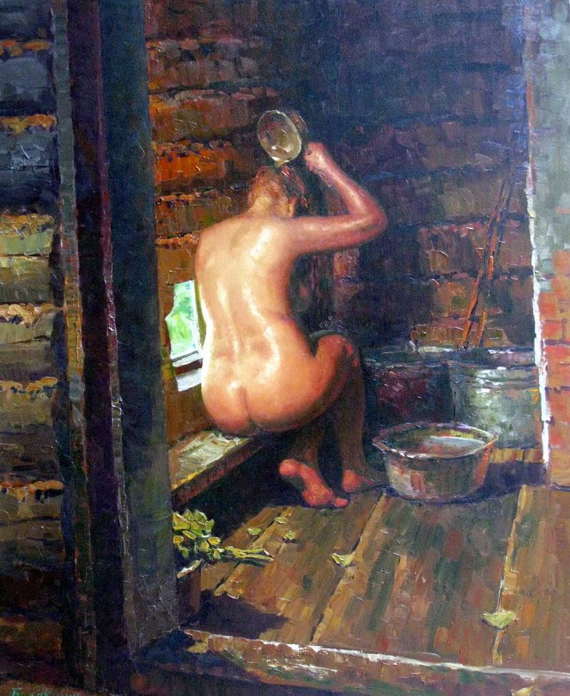 эротика банный день