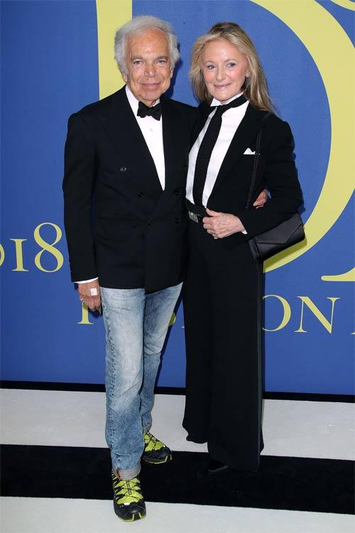 Супруги Ральф и Рики Лорен
