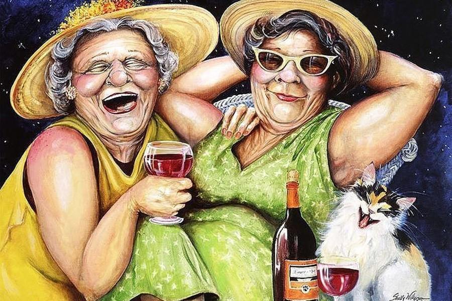 тетка и девушка - 3