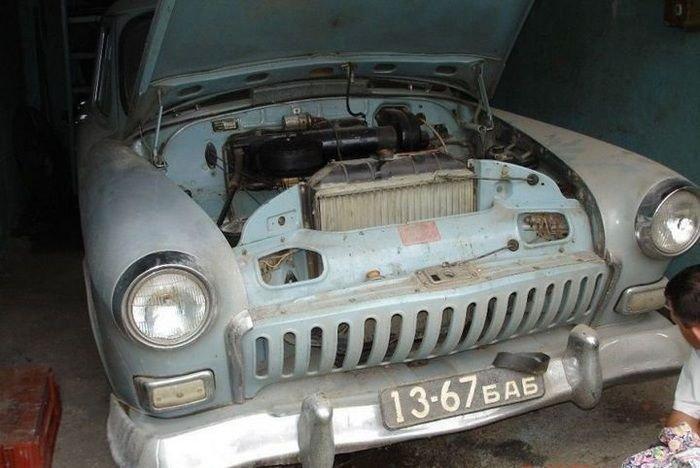 Восстановление старой Волги ГАЗ-21
