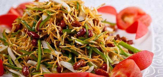 Картофельный салат – 5 сытных рецептов кулинария,рецепты,салаты