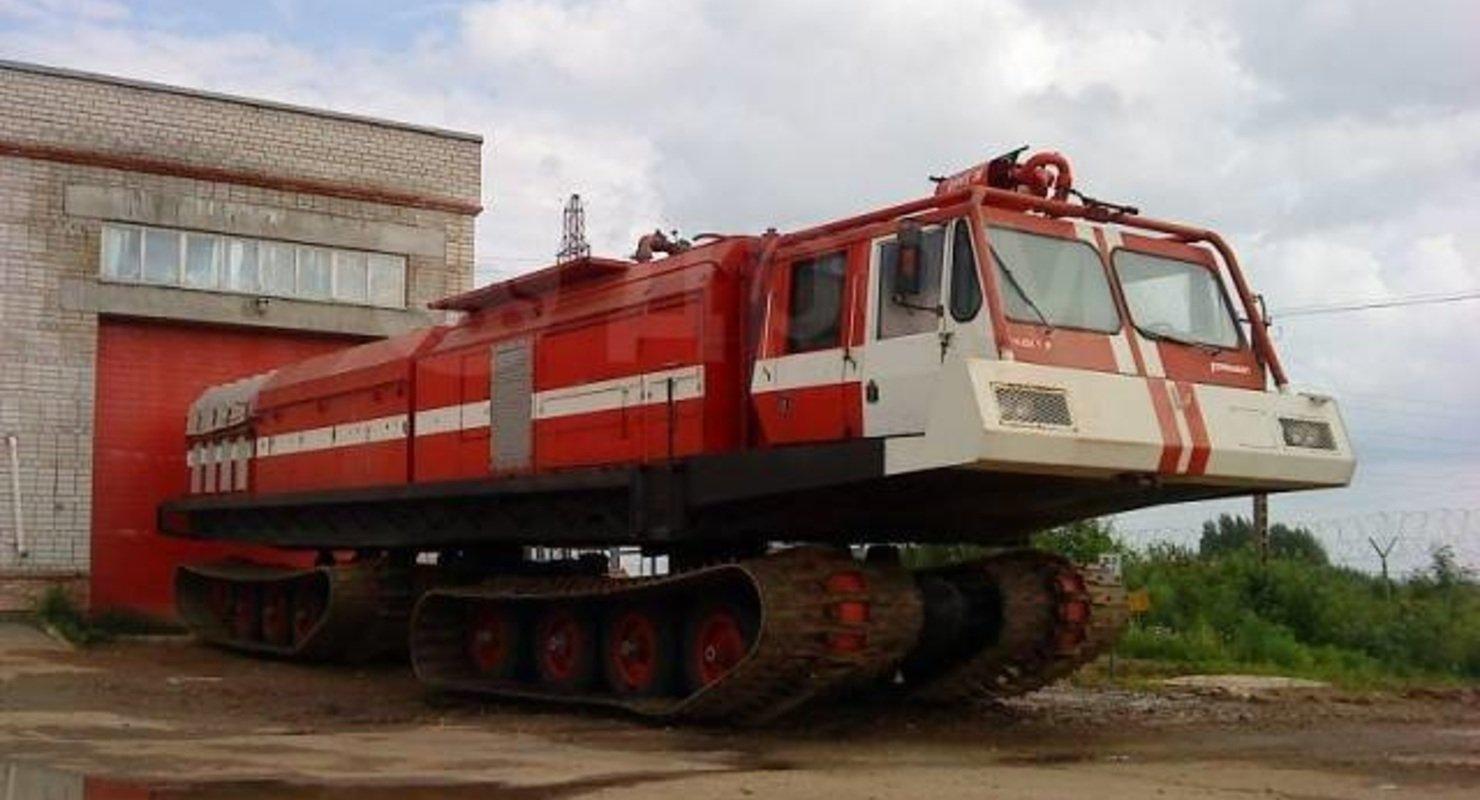 Уникальный гусеничный вездеход 1985 года, продается в России Исследования
