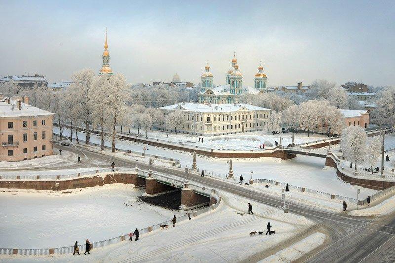 ПУТЕШЕСТВИЯ. Зимний Санкт-Петербург