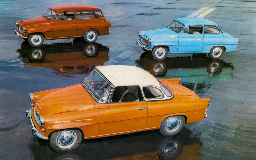 Первые Rapid иOctavia— элитная Шкода времен социализма авто,автомобиль,Россия