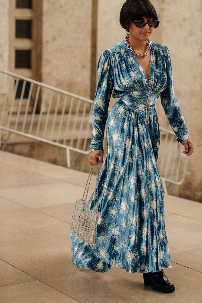 Утепляемся к осени: 35 образов с длинной юбкой или платьем, фото № 13