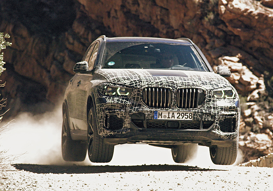 Посмотрите на новый BMW X5 в…