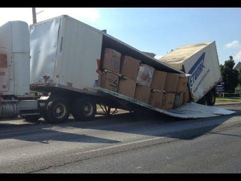 Как перегружают грузовики