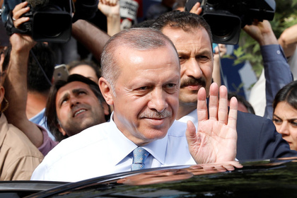 Эрдоган объявил о своей победе на президентских выборах в Турции