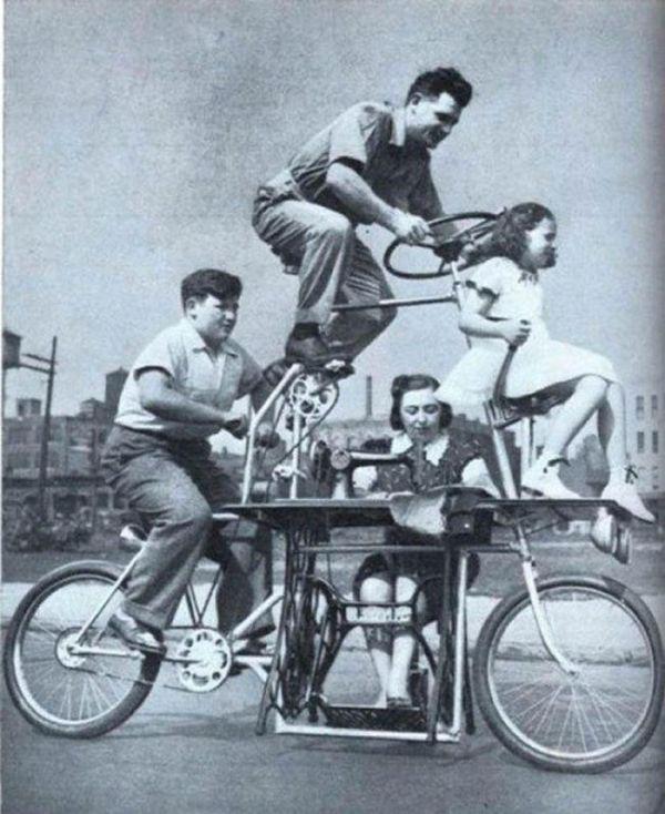 A bike the whole family can enjoy.
