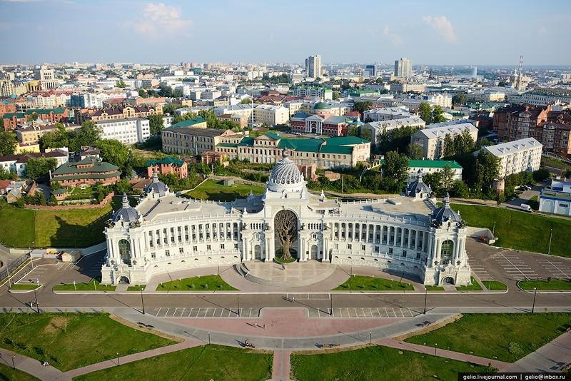 Дворец земледельцев в Казани…