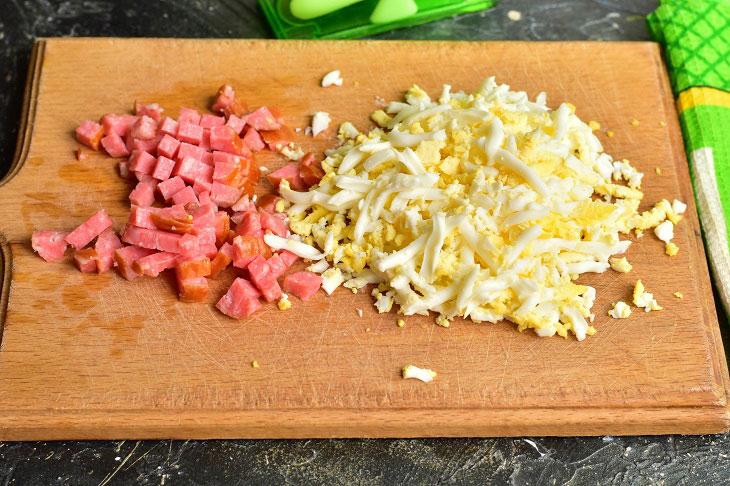 Салат «Гости на пороге» — вкусный и быстрый рецепт готовим дома,кулинария