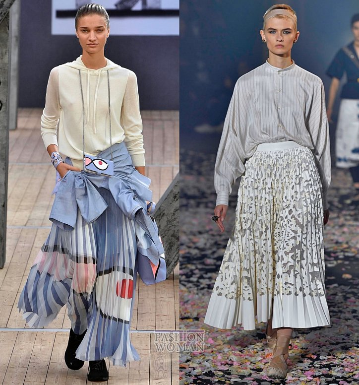 Модные юбки весна-лето 2019 фото №4