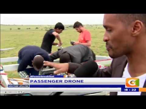 Первый прототип летающего такси из Кении