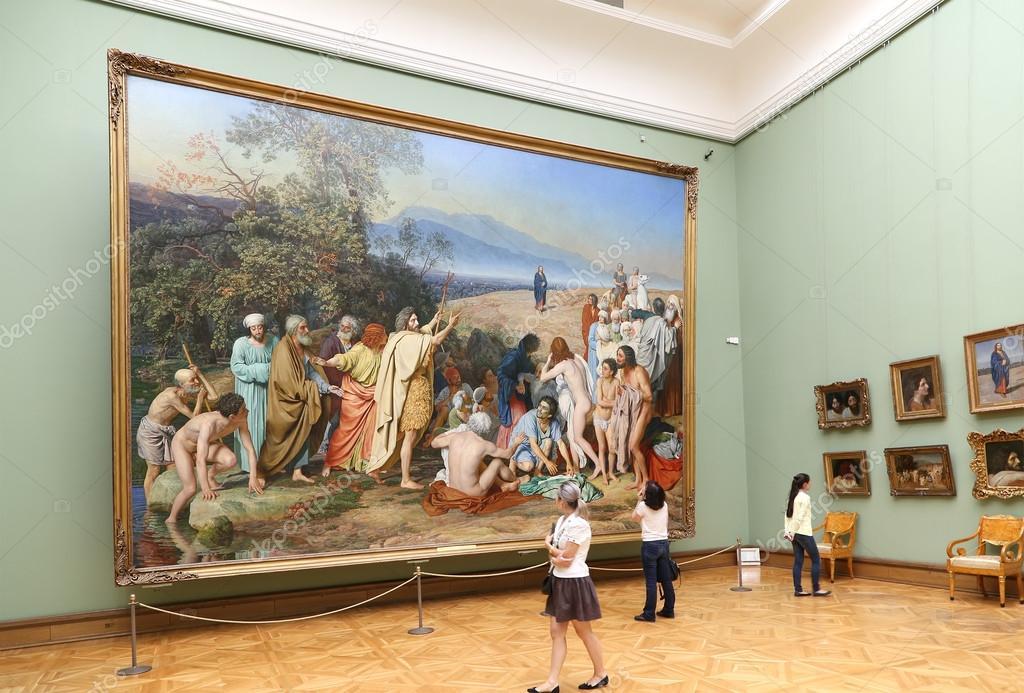 Смотрители Третьяковской галереи выгнали из музея маму с дочерьми