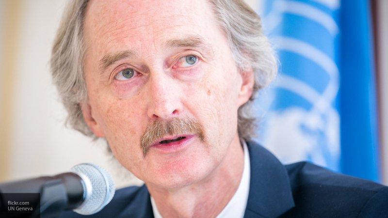 Спецпосланник ООН по Сирии планирует переговорить с Лавровым и Шойгу в пятницу в Москве