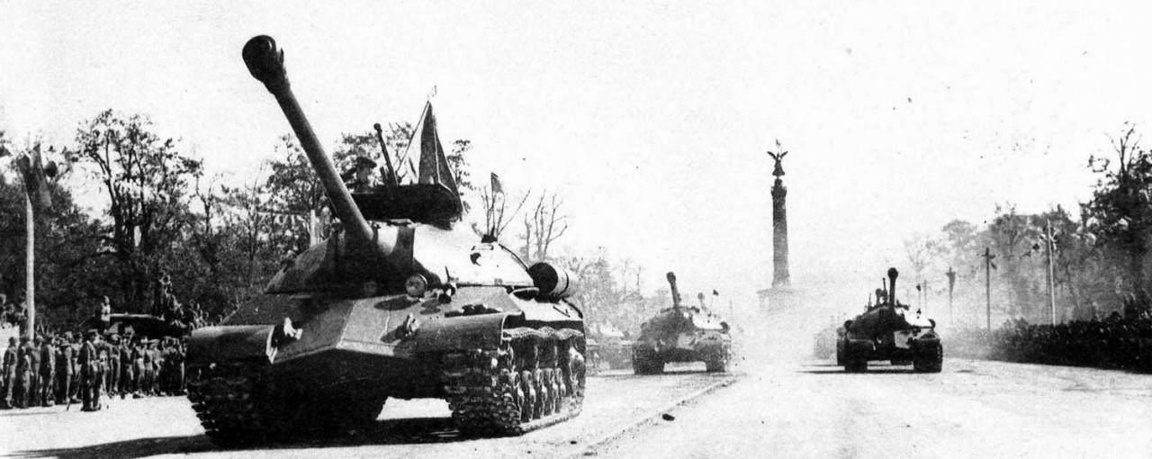 Парад Победы. Берлин, сентябрь 1945 года /видео/