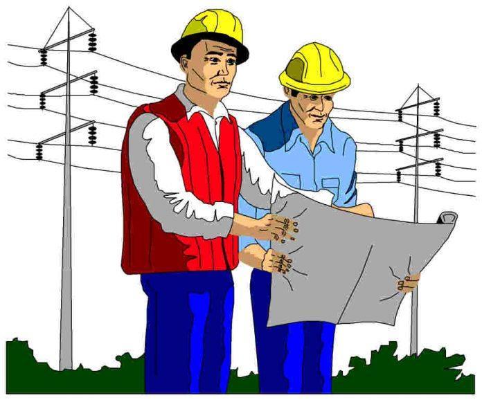 Два инженера стояли у подножия флагштока...