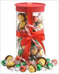 Вкусные новогодние подарки
