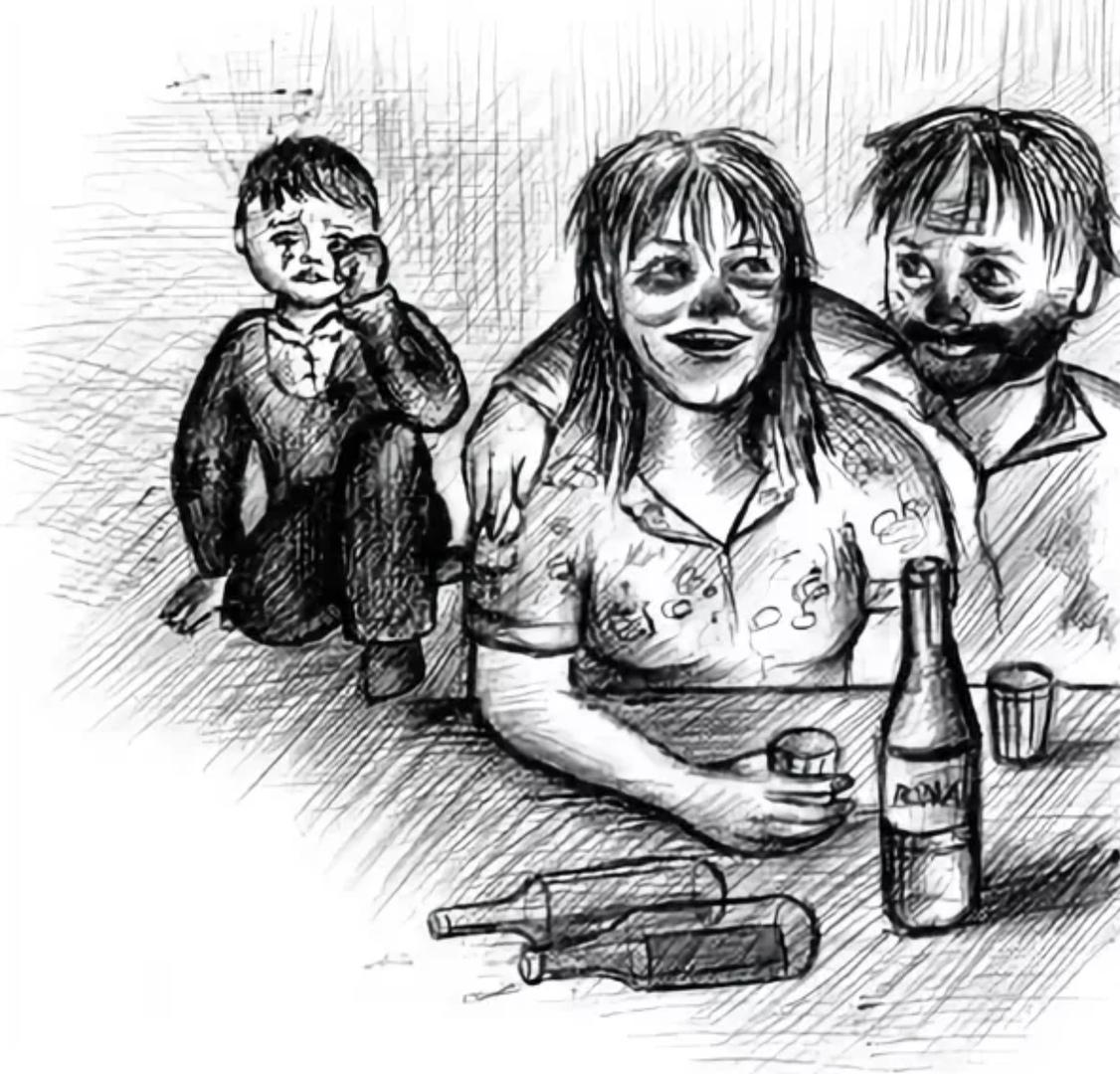 В Селижарово пьяницы - родители