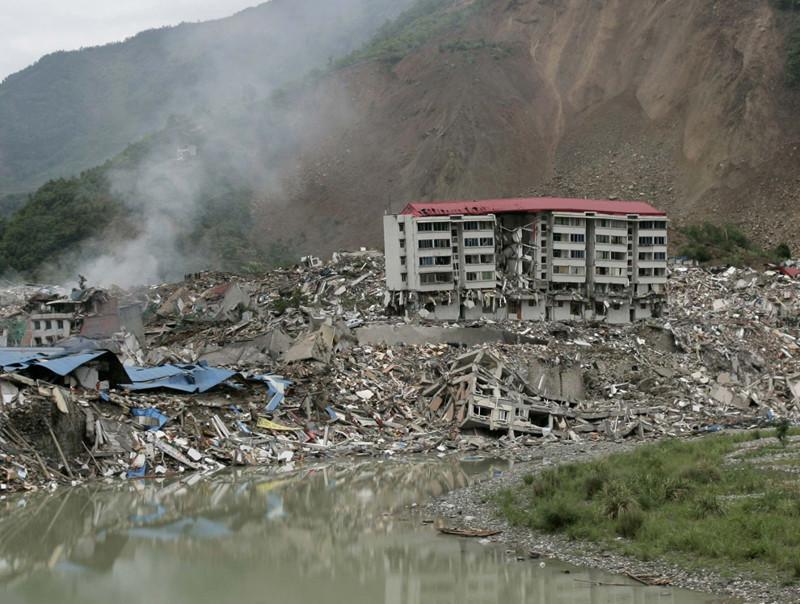 11. Город Бэйчуань в Китае, разрушенный землетрясением города-призраки, заброшенные города, загадки, тайны, фото
