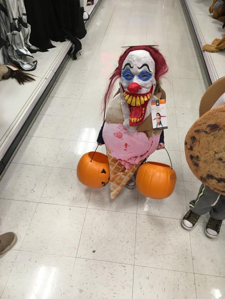 Костюмы на Хэллоуин - это отдельная тема дети, прикол, родители, юмор