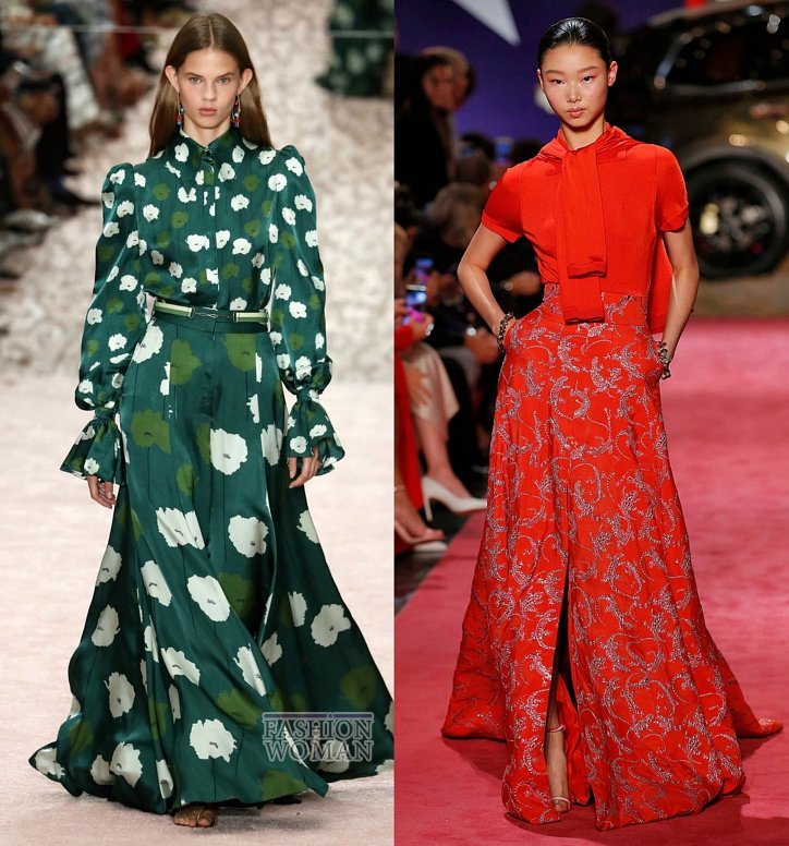 Модные юбки весна-лето 2019 фото №18