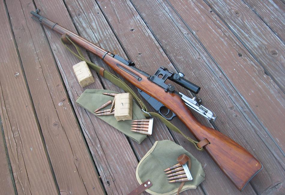 10 самых известных снайперских винтовок в истории