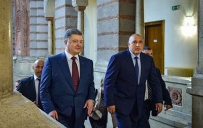 Украина анонсировала встречу Порошенко с премьером Болгарии