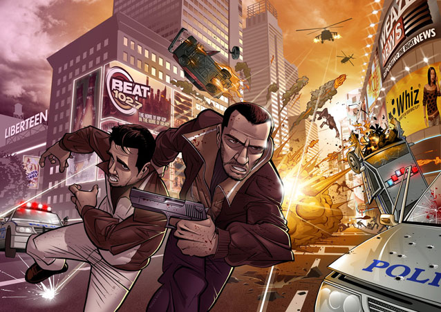 Легендарную Grand Theft Auto IV сняли с продажи в Steam и Rockstar Games Launcher grand theft auto iv,rockstar games launcher,steam,игровые новости,Игры