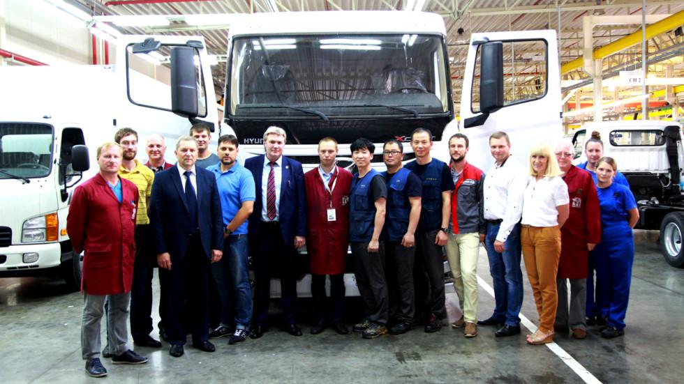 Hyundai запускает в РФ производство грузовиков