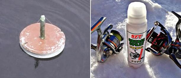 кружки из ЭВА, обслуживание катушек, непромокаемый анорак