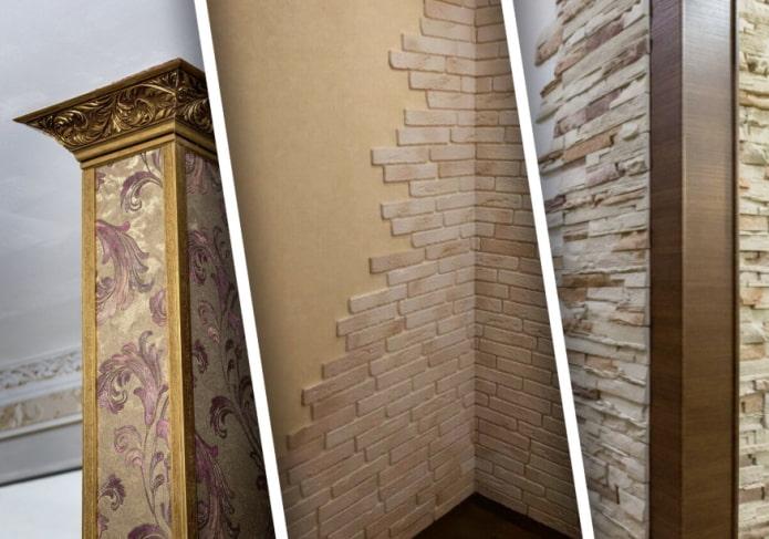 Как отделать углы стен? Практичные и красивые варианты декора