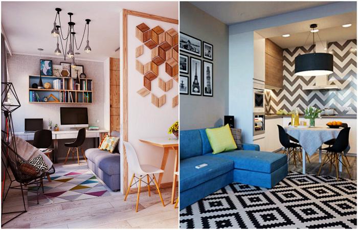 Актуальные идеи оформления малогабариток, с которыми места в квартире хватит для любой вещи