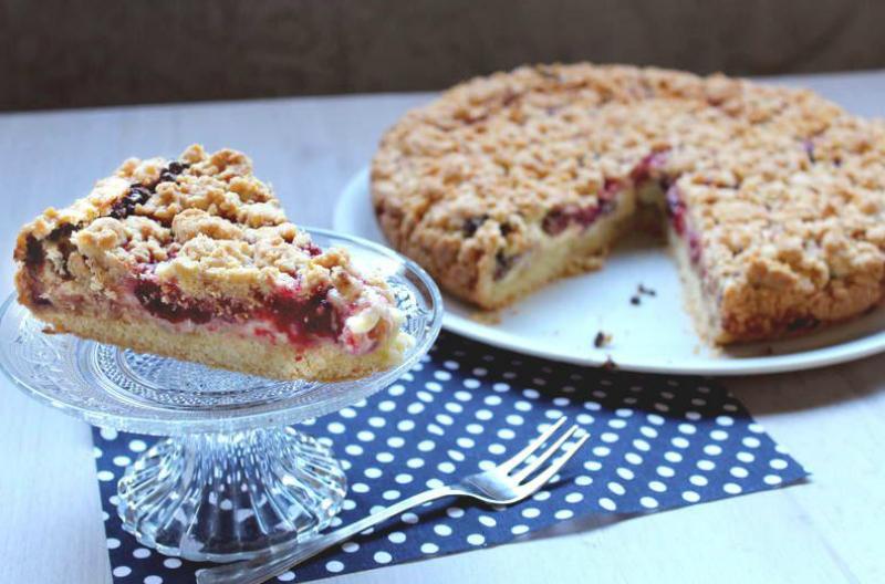 Песочный пирог на сковороде: формовка без раскатывания теста