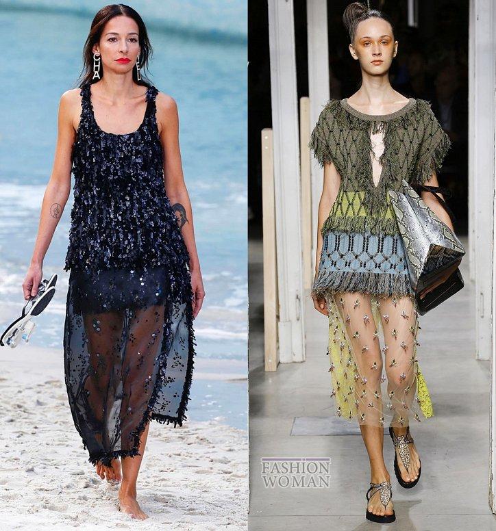 Модные юбки весна-лето 2019 фото №12