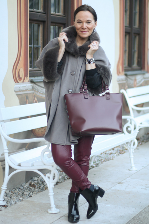 Как носить кожаные легинсы: стиль женщины 50+ гардероб,мода и красота,модные образы,одежда и аксессуары