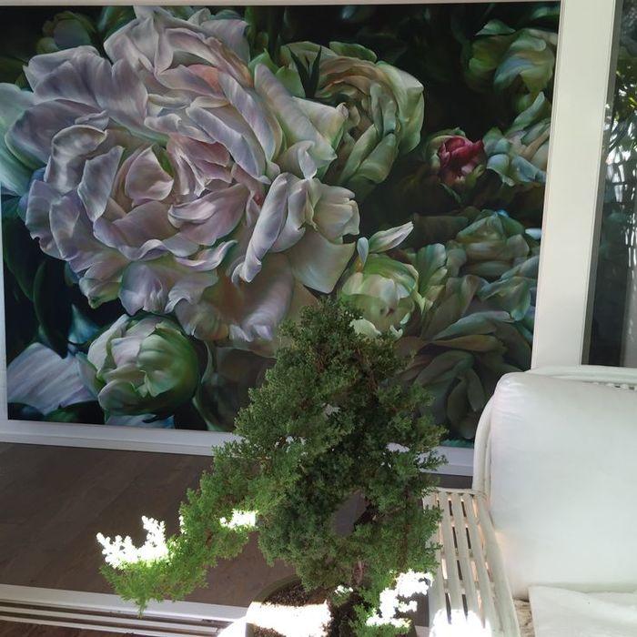Потрясающий цветочный интерьер | Роскошь и уют Фото