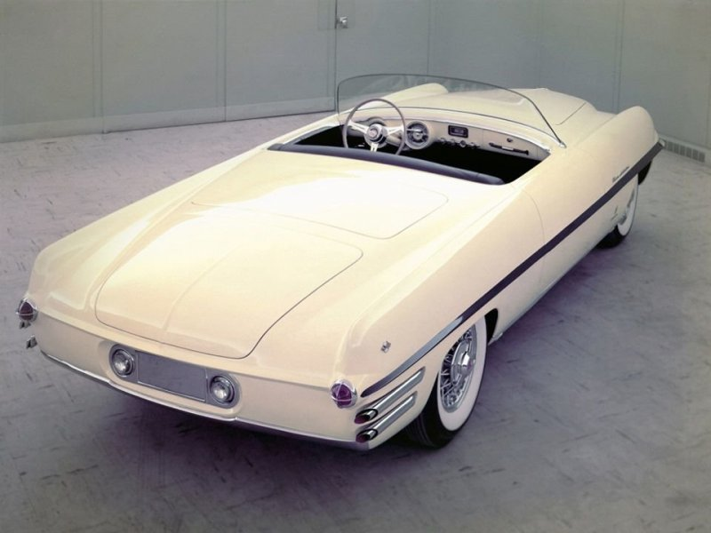 Dodge Firearrow II Roadster Concept Car 1954 года Dual-Ghia, ghia, авто, автодизвйн, автомобили, кабриолет, олдтаймер, ретро авто