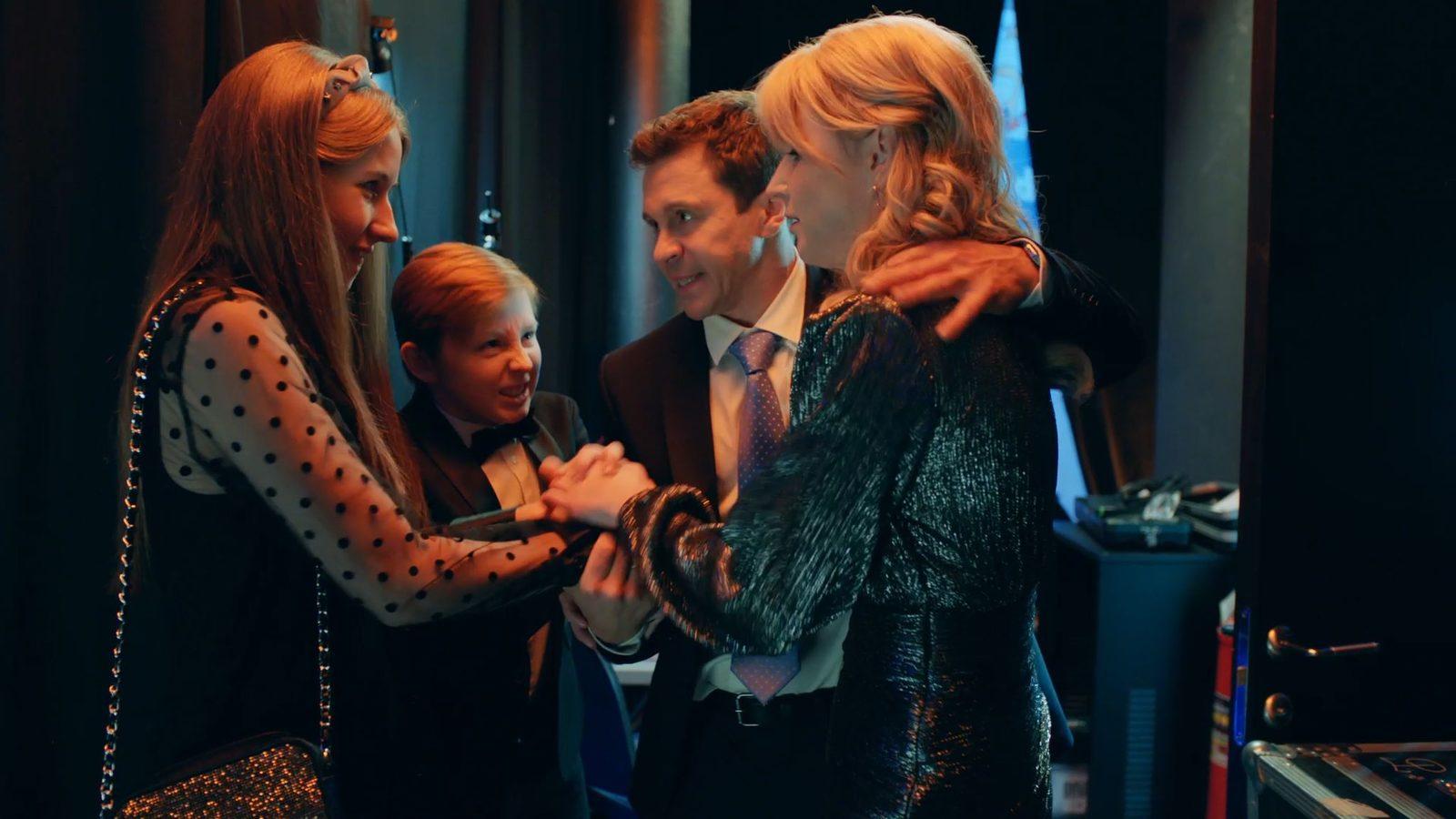 Павел Деревянко и Ольга Медынич составят «Идеальную семью»