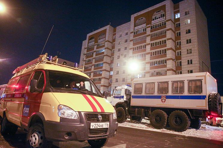 Ночная стрельба в Казани