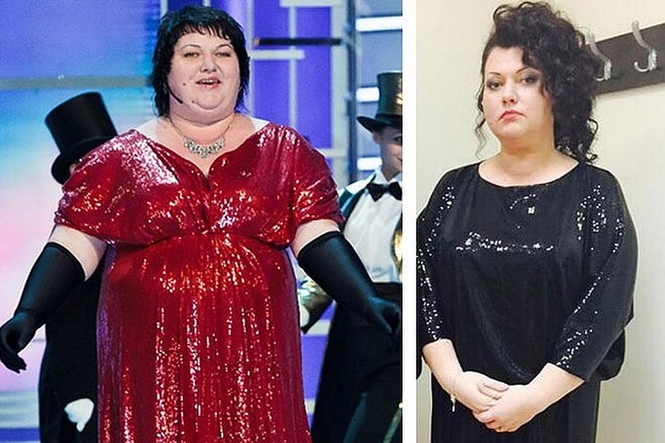 [BBBKEYWORD]. Как похудела звезда КВН Ольга Картункова?