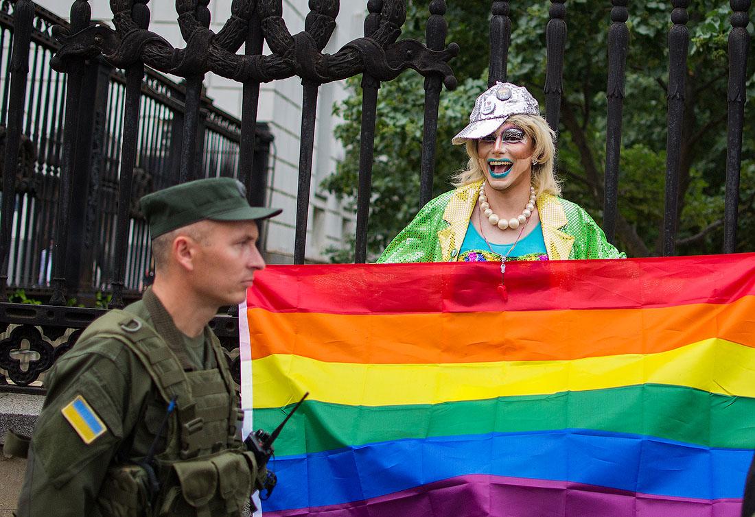 Гей-парад в Киеве: Порошенко…