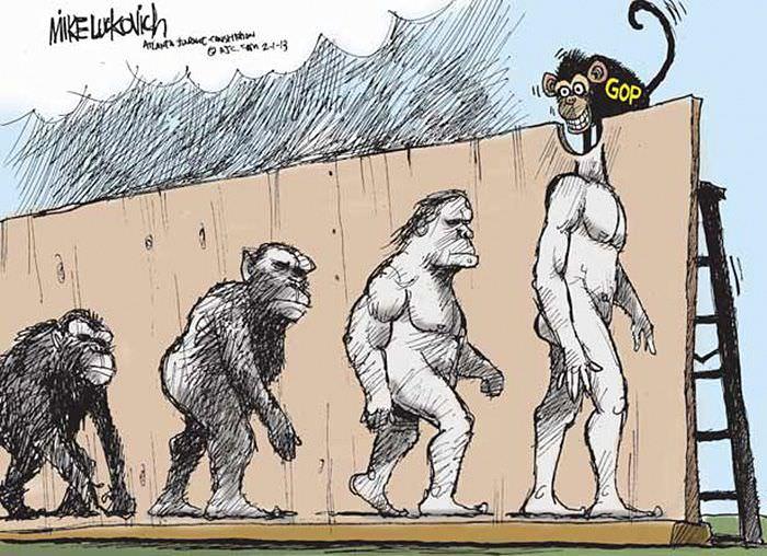 Смешная картинка эволюция